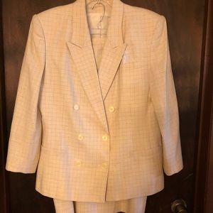 Ascot & Tailors Double Breasted Skirt Suit